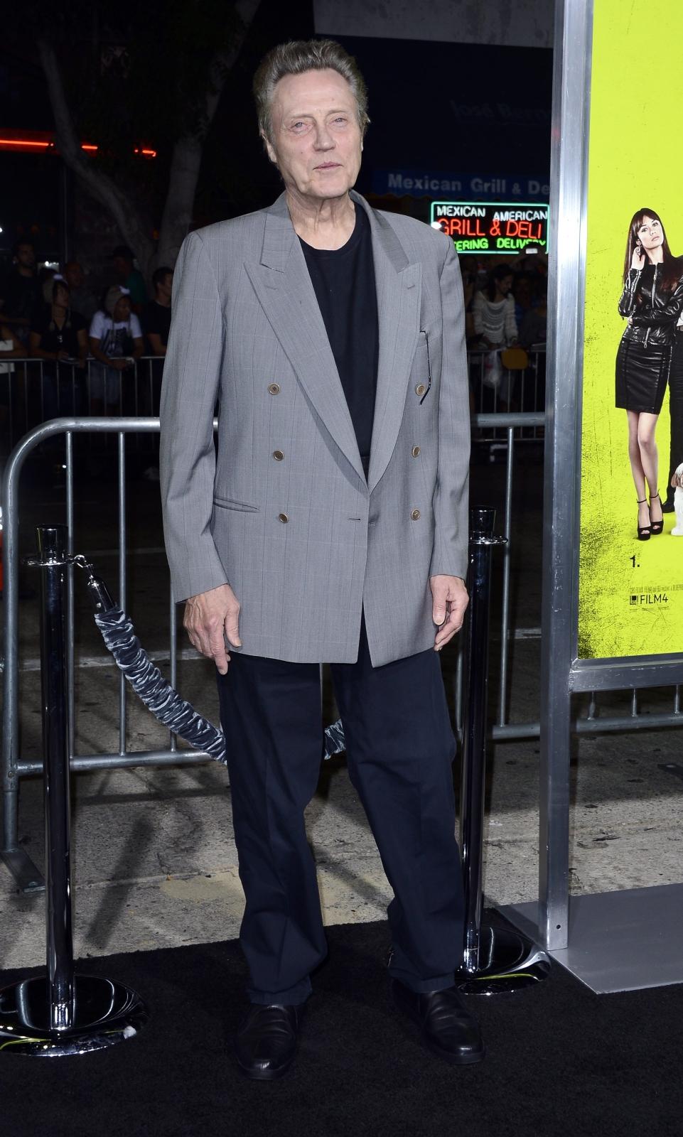 """Christopher Walken na premierze """"Siedmiu psychopatów"""""""