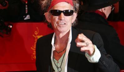 """Keith Richards zagra w piątej części """"Piratów z Karaibów"""""""