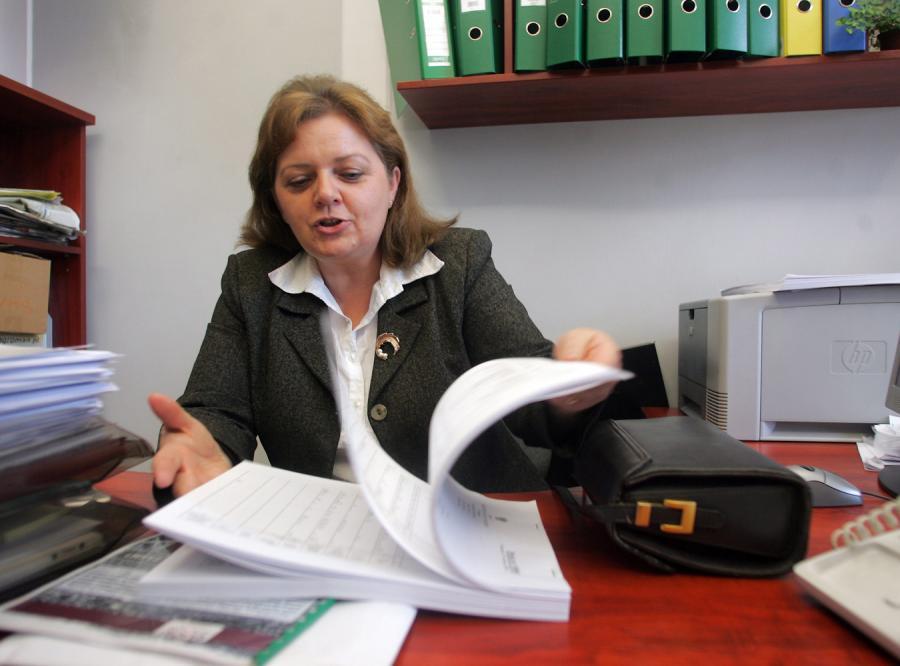 Renata Beger usłyszała w prokuraturze zarzuty