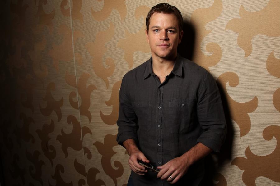 Matt Damon zagra Lance\'a Armstronga