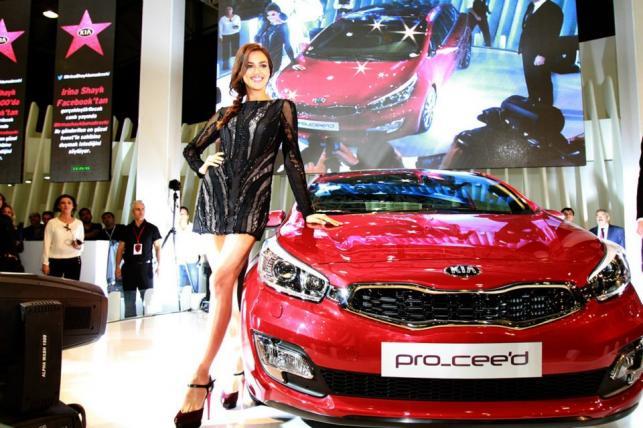 Irina Shayk i kia pro_cee'd