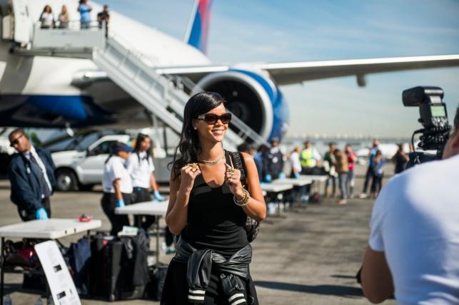 Rihanna na trasie 777 Tour