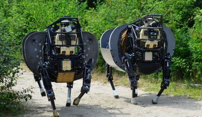 LS3 - muł transportujący od DARPA