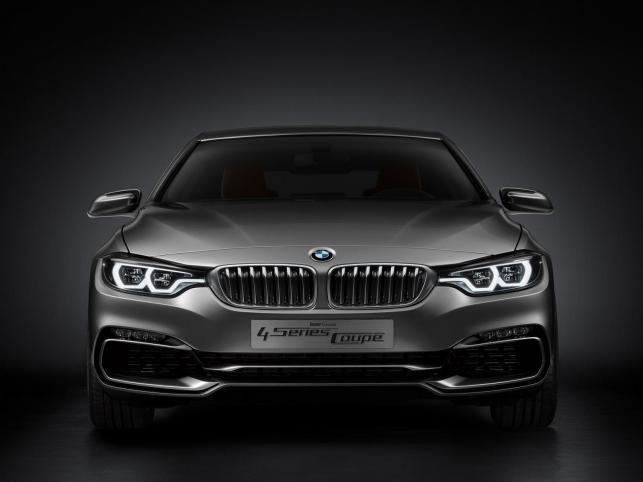 Prototyp BMW serii 4 coupe