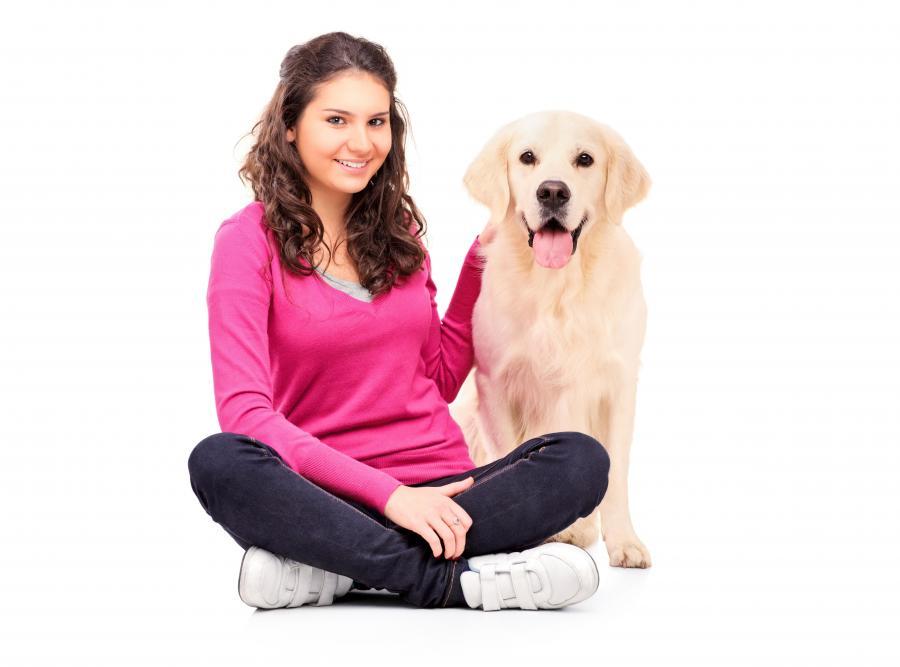 Zabawy z psem pomagają zdać egzamin