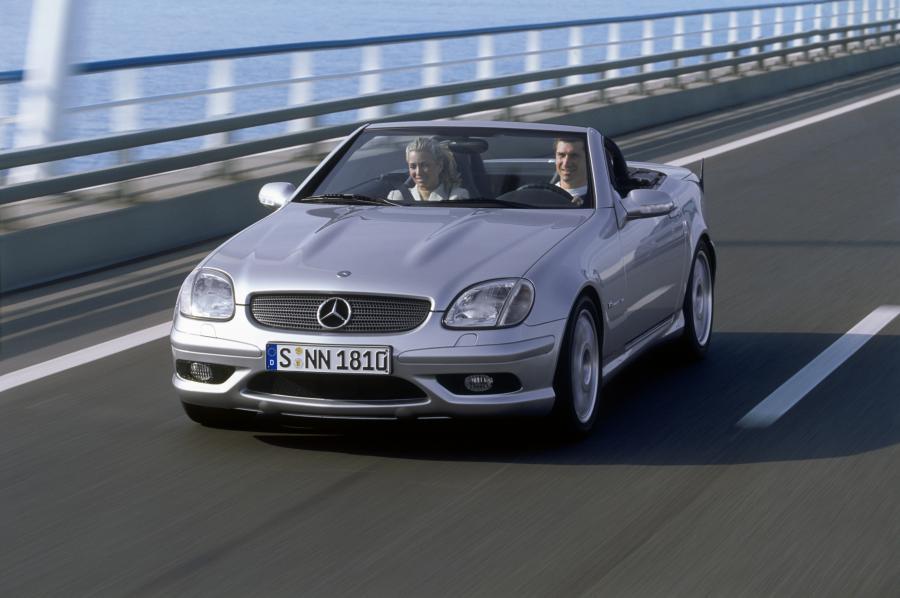 Mercedes SLK - 3. miejsce w kategorii aut 10-11 letnich