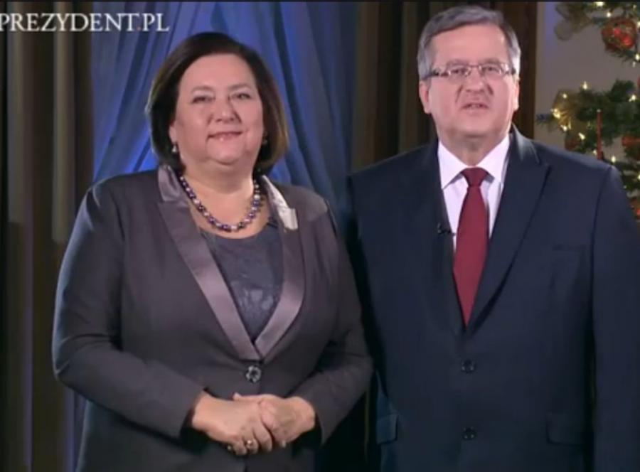 Para prezydencka składa Polakom życzenia