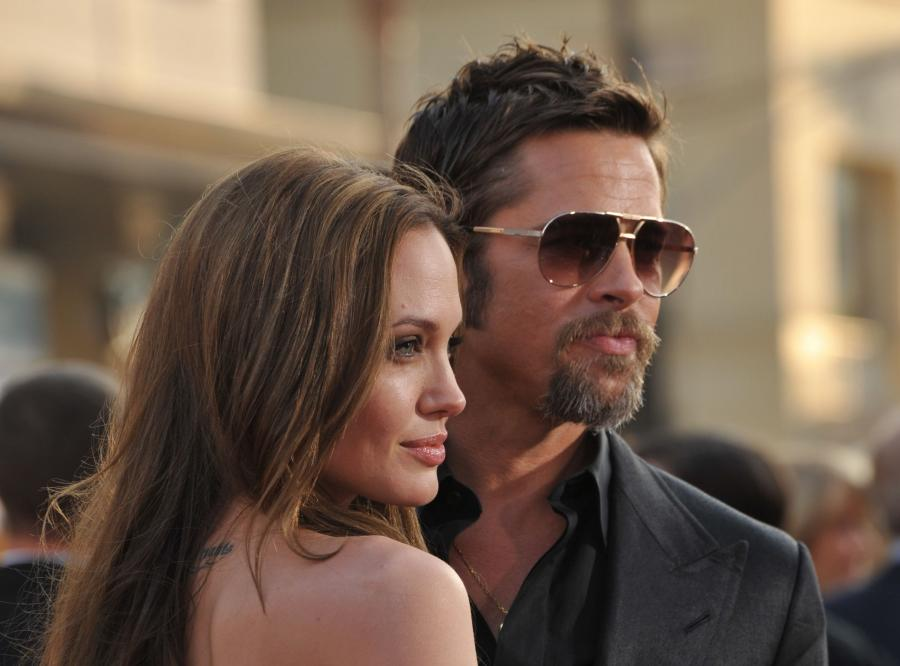 Brad Pitt dumny z Angeliny Jolie