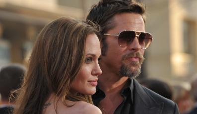 Angelina Jolie Brad Pitt ślub Turks and Caicos