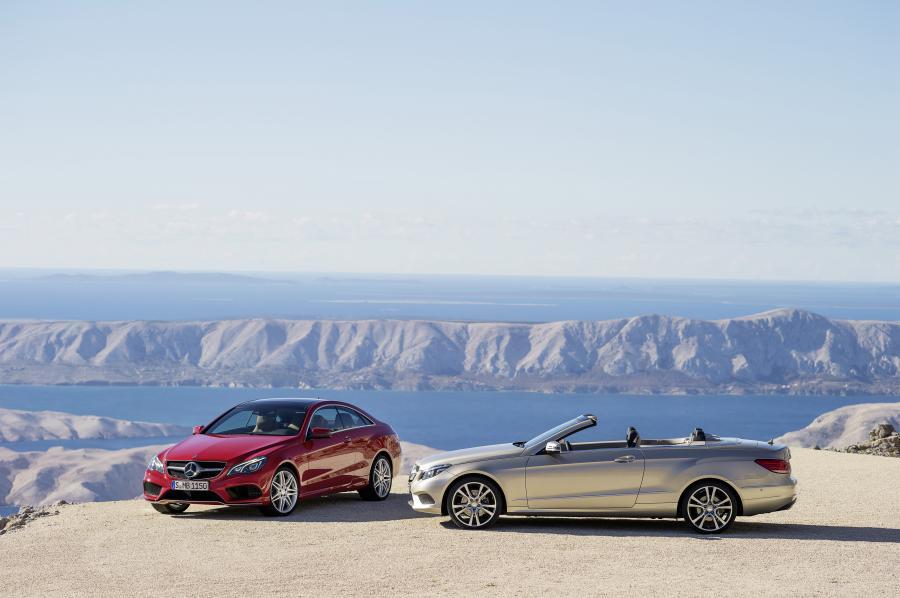 Mercedes klasy E coupe i cabriolet