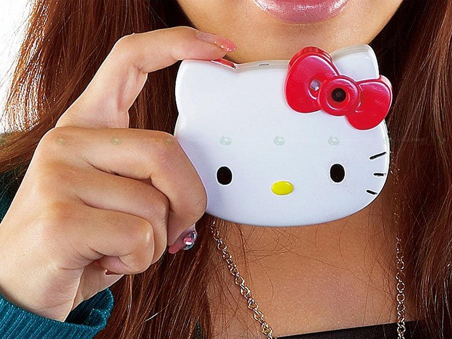 Cyfrówka w głowie kota dla Twojej pociechy