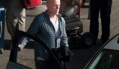 """Bruce Willis na planie """"Szklanej pułapki"""""""