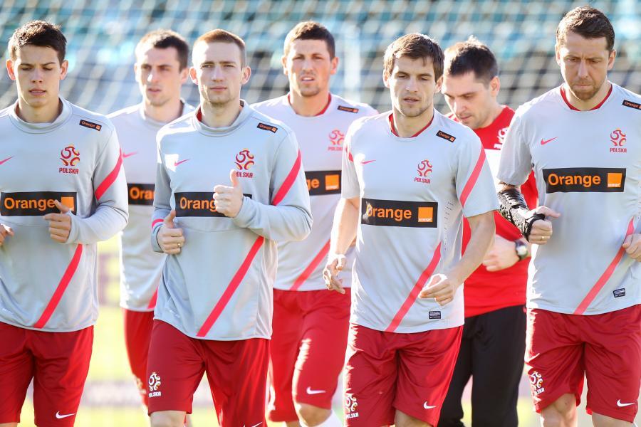 Trening polskiej reprezentacji