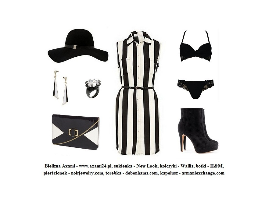 Paski - modne stylizacje na wiosnę 2013