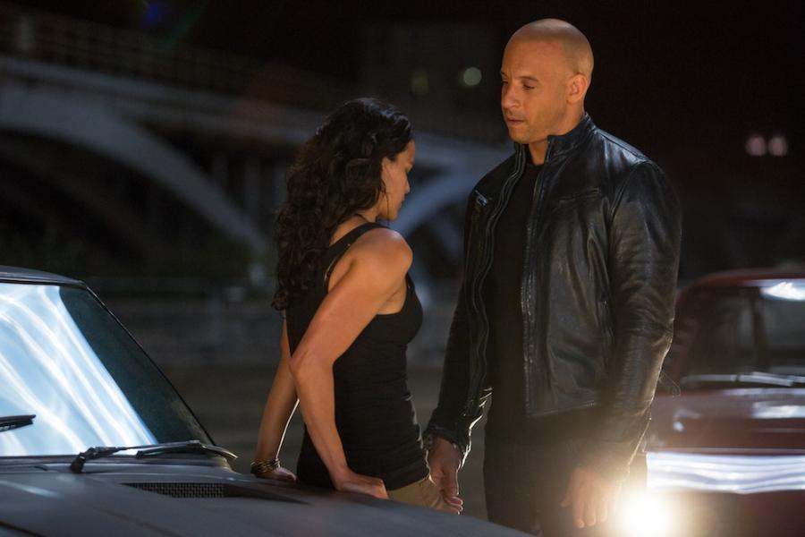 """Michelle Rodriguez i Vin Diesel w fimie """"Szybcy i wściekli 6"""""""