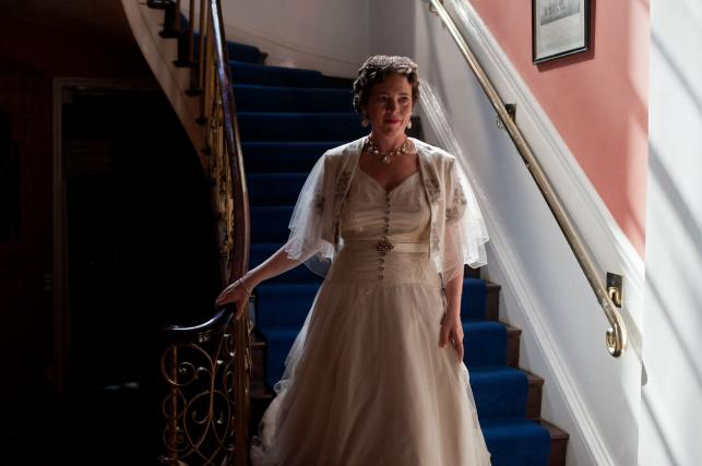"""Olivia Williams w filmie """"Weekend z królem"""""""