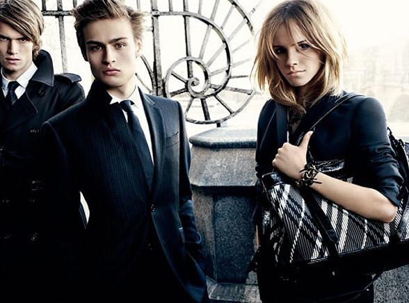 Emma Watson firmuje twarzą markę Burberry