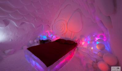 Hotel de Glace - niezwykły hotel z lodu