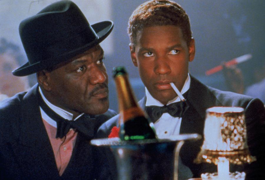 """Denzel Washington w filmie """"Malcolm X"""" (1992)"""