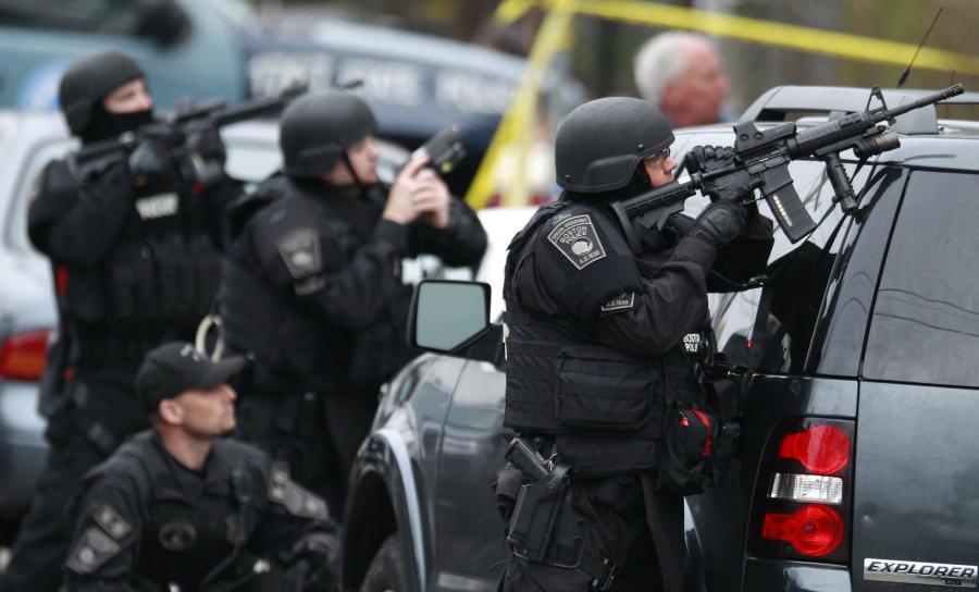 Policyjna obława na zamachowca