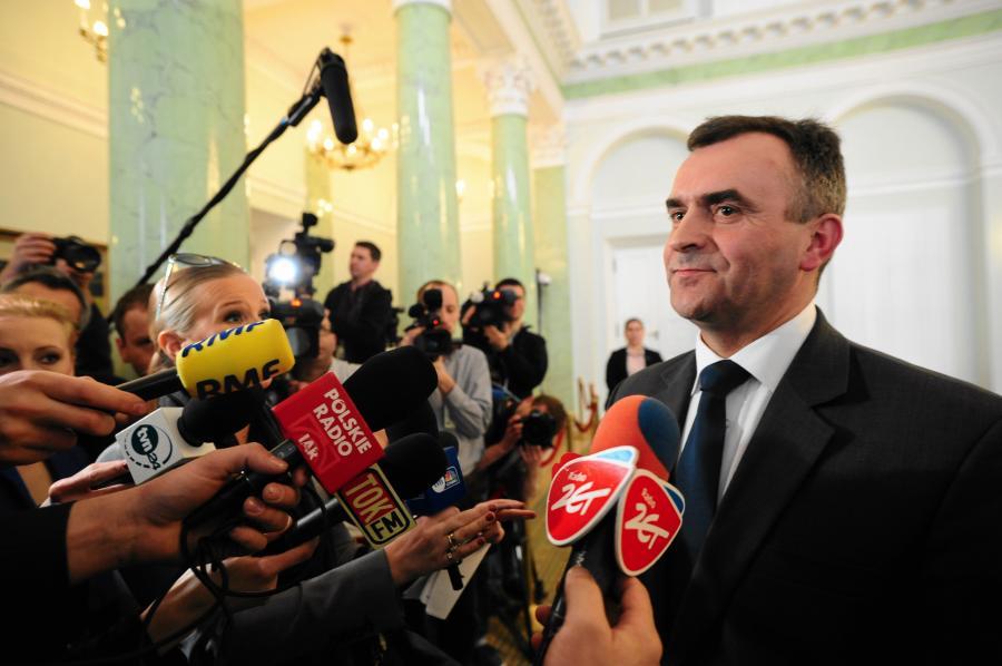 Nowy minister skarbu państwa Wołdzimierz Karpiński