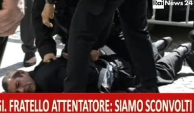 Sprawca strzelaniny we Włoszech
