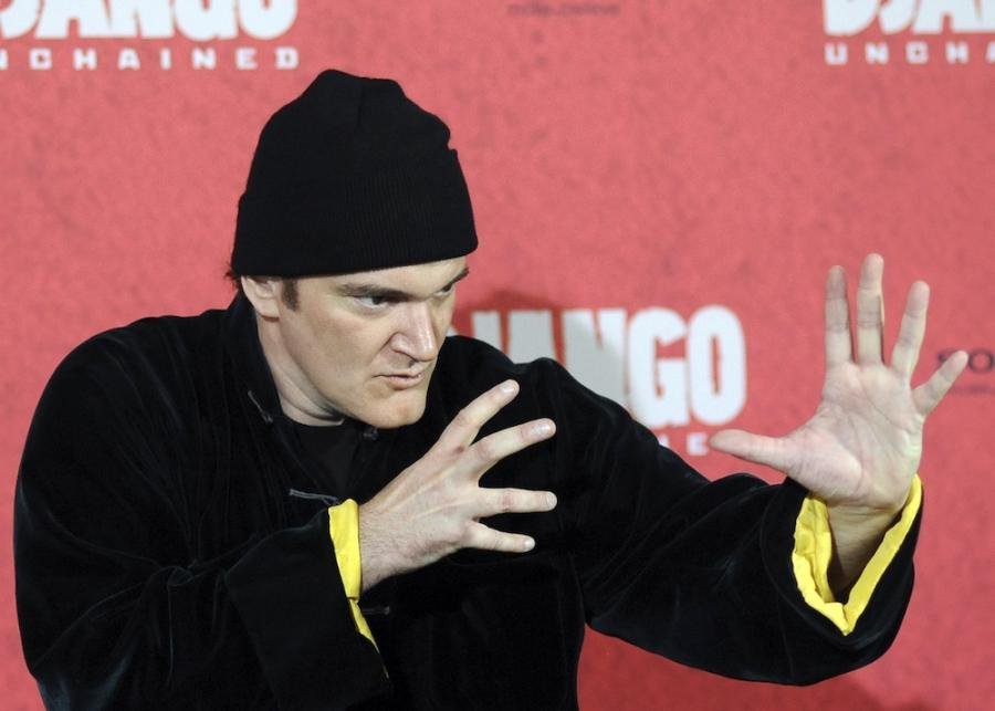 Quentin Tarantino sparodiowany we \