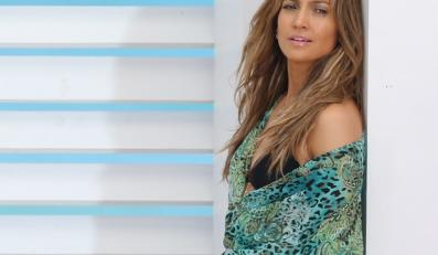 "Jennifer Lopez na planie klipu do ""Live It Up"""