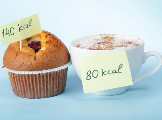 Mniej kalorii - mniej wagi ciała