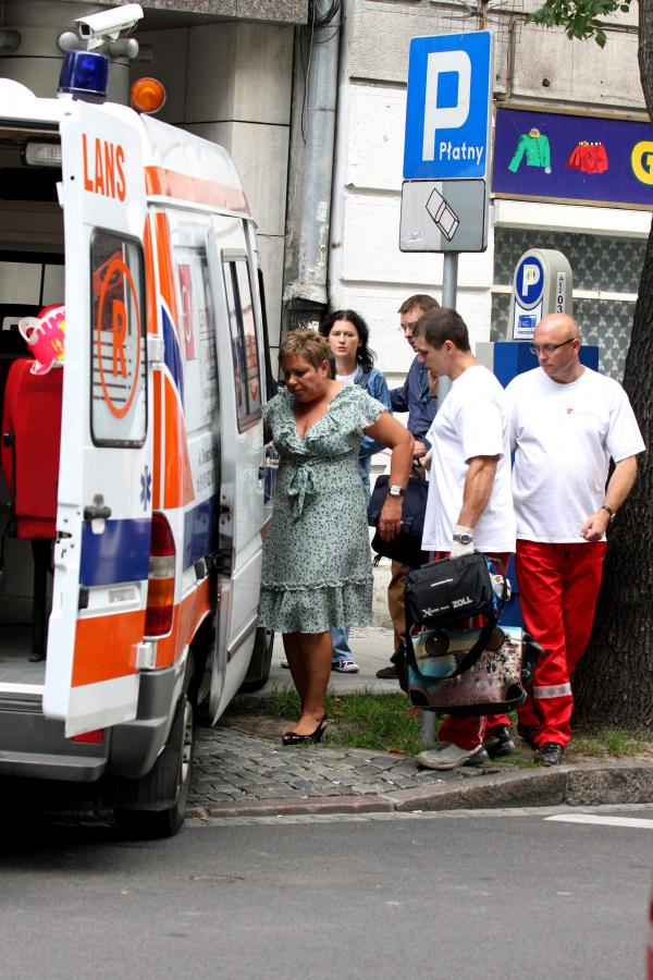 Dorota Wellman zasłabła na wizji i trafiła do szpitala
