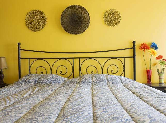 Chcesz Się Wysypiać Dobrze Wybierz Kolor Sypialni Zdjęcie
