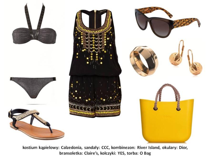Metaliczny trend - modne stylizacje na lato 2013