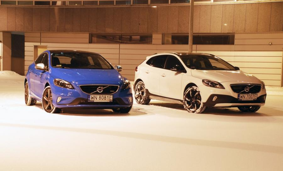 Volvo V40 R-Design i V40 Cross Country