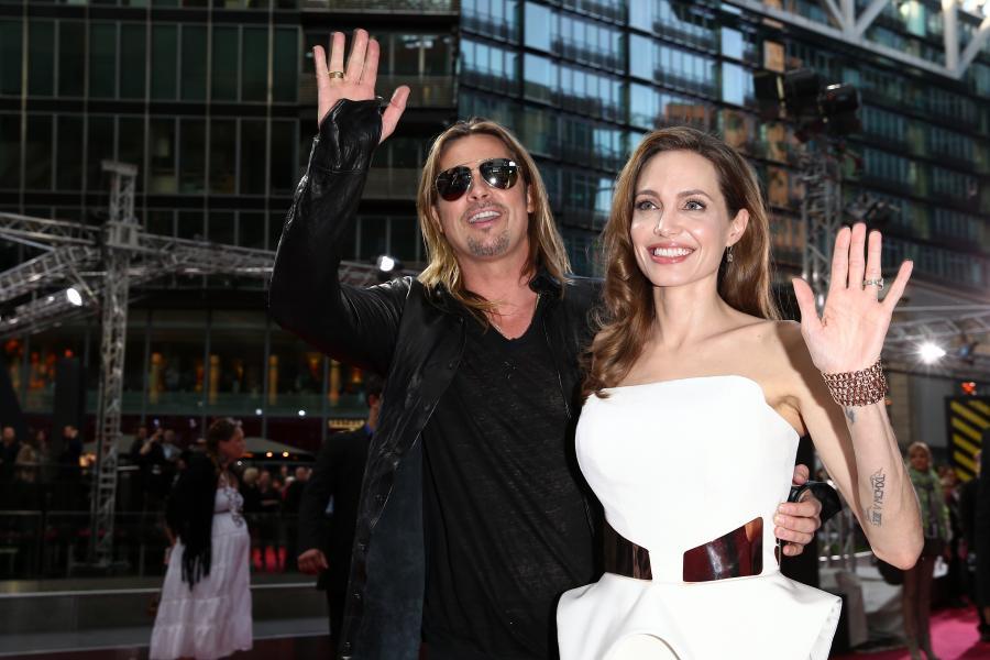 Brad Pitt i Angelina Jolie znów razem kręcą
