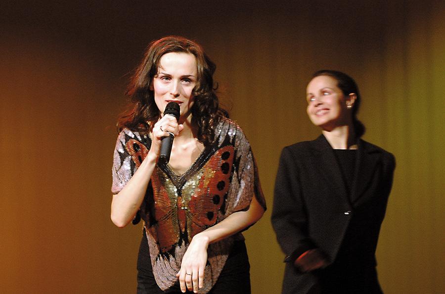 Małgorzata Niemen i Natalia –marzec 2003 roku