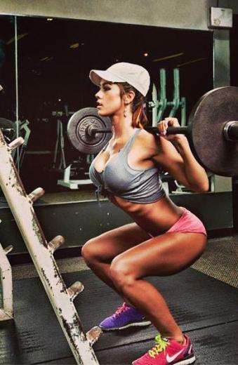 Ślicznotki z siłowni