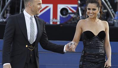 Cheryl Cole (na zdjęciu z Garym Barlowem)