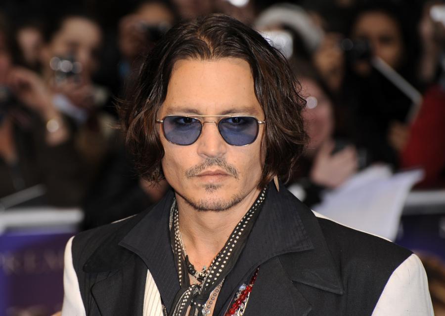 Przepracowany Johnny Depp