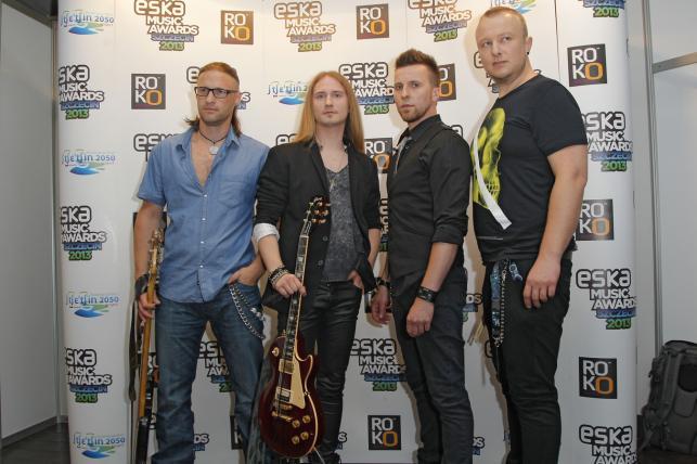 Kreuzberg na gali Eska Music Awards 2013