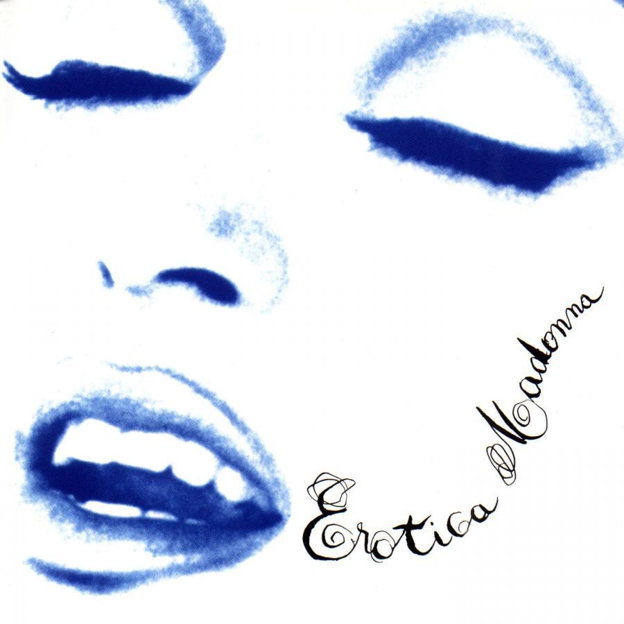 """Madonna na okładce albumu """"Erotica"""" w 1992 roku"""