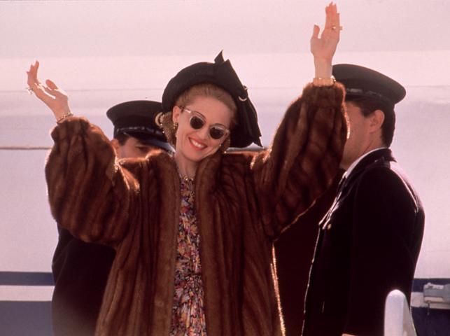 Madonna jako Evita Peron