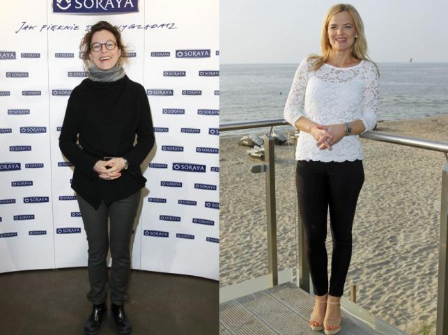 Aleksandra Justa i Monika Richardson