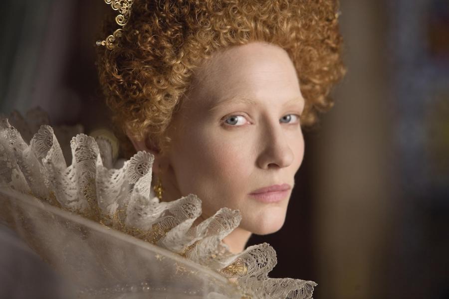 "Cate Blanchett w filmie ""Elizabeth"""