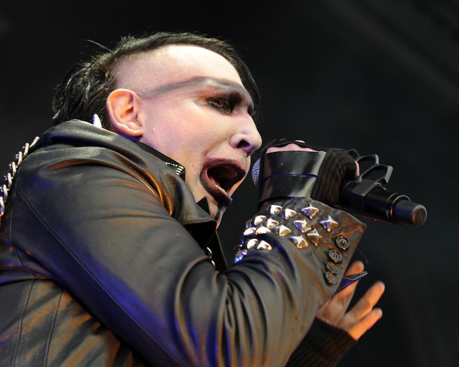 Marilyn Manson pokazał nową twarz