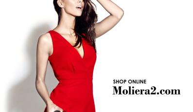 Paulina Krupińska w kampanii platforny online MOLIERA2.COM
