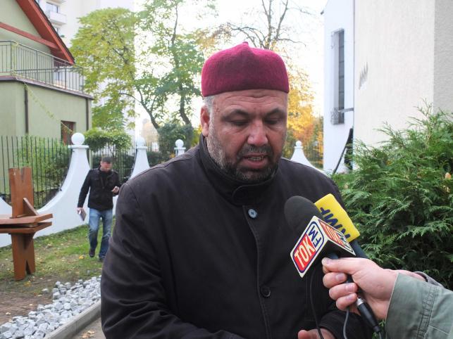 Podpalenie meczetu w Gdańsku