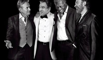 """Michael Douglas, Morgan Freeman, Kevin Kline i Robert De Niro w filmie """"Last Vegas"""""""