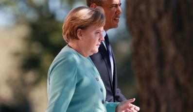 Angela Merkel i Barack Obama