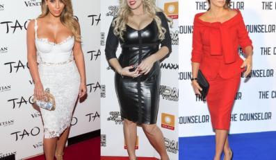 Kim Kardashian, Joanna Liszowska i Penelope Cruz