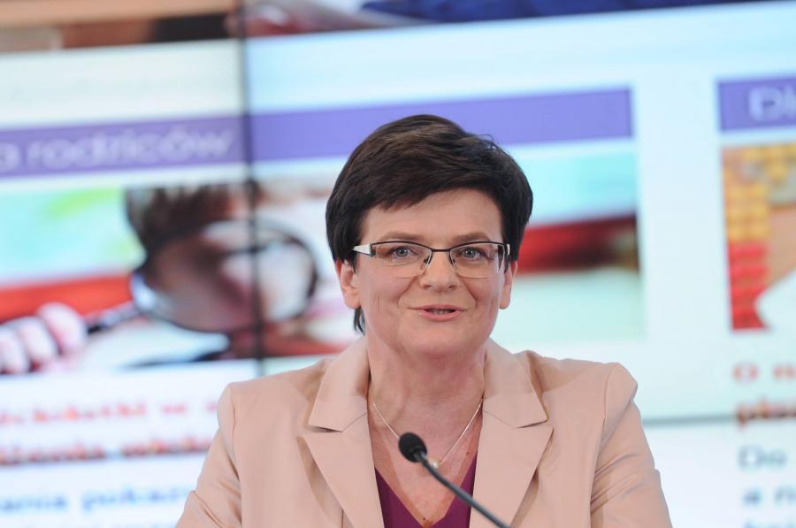 Minister edykacji Krystyna Szumilas